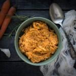 roasted cauliflower and carrot mash