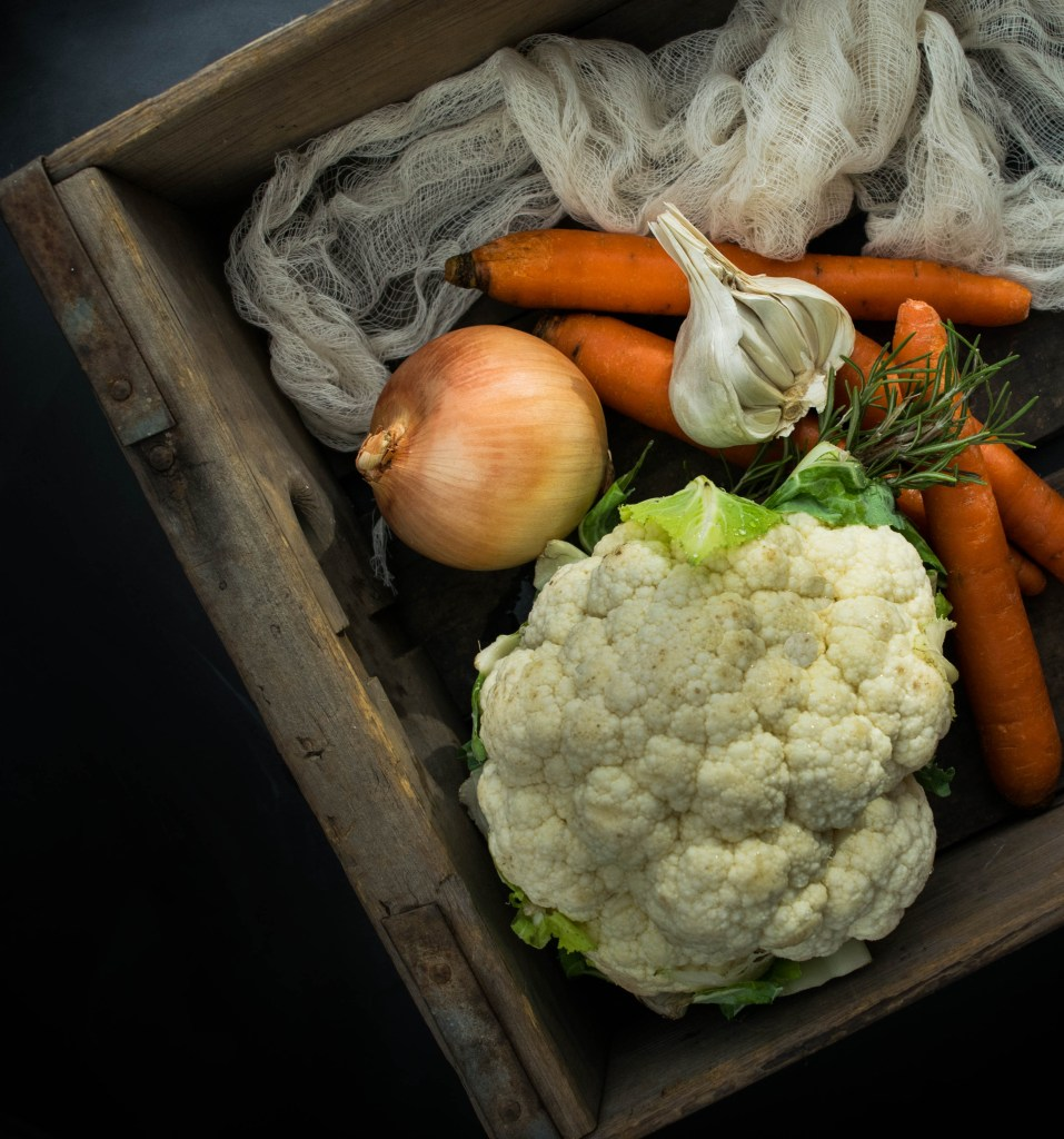 cauliflower carrots