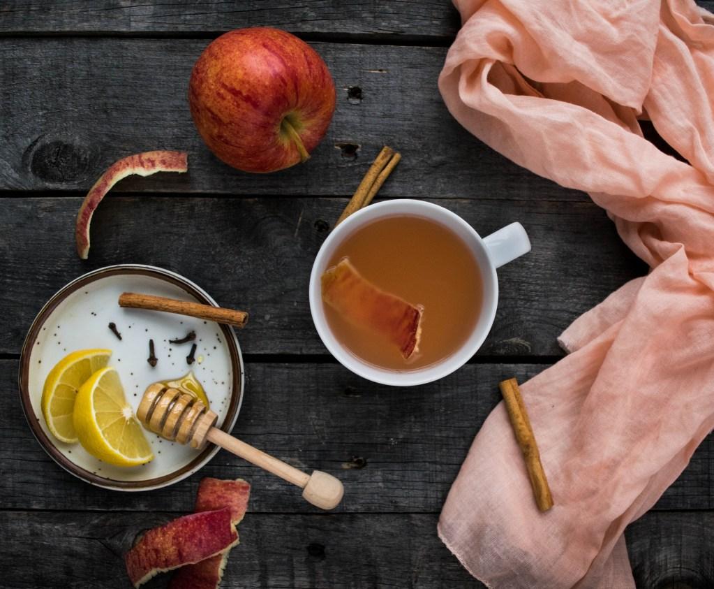 Apple Peel Tea   Reclaiming Yesterday