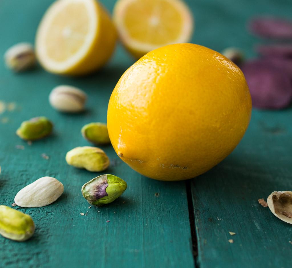 lemon pistachio