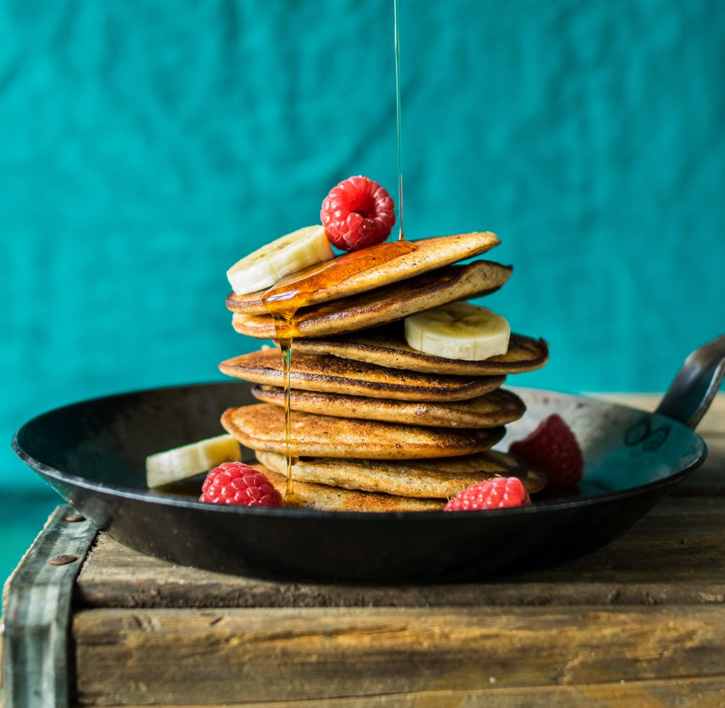 3 ingredient paleo pancakes