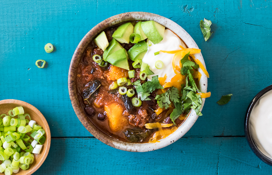 Crock Pot Sweet Potato Chipotle Chili | Reclaiming Yesterday