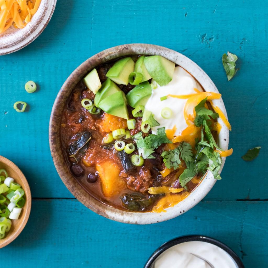 Crock Pot Sweet Potato Chili | Reclaiming Yesterday