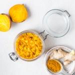 Beet and Turmeric Sauerkraut | Reclaiming Yesterday