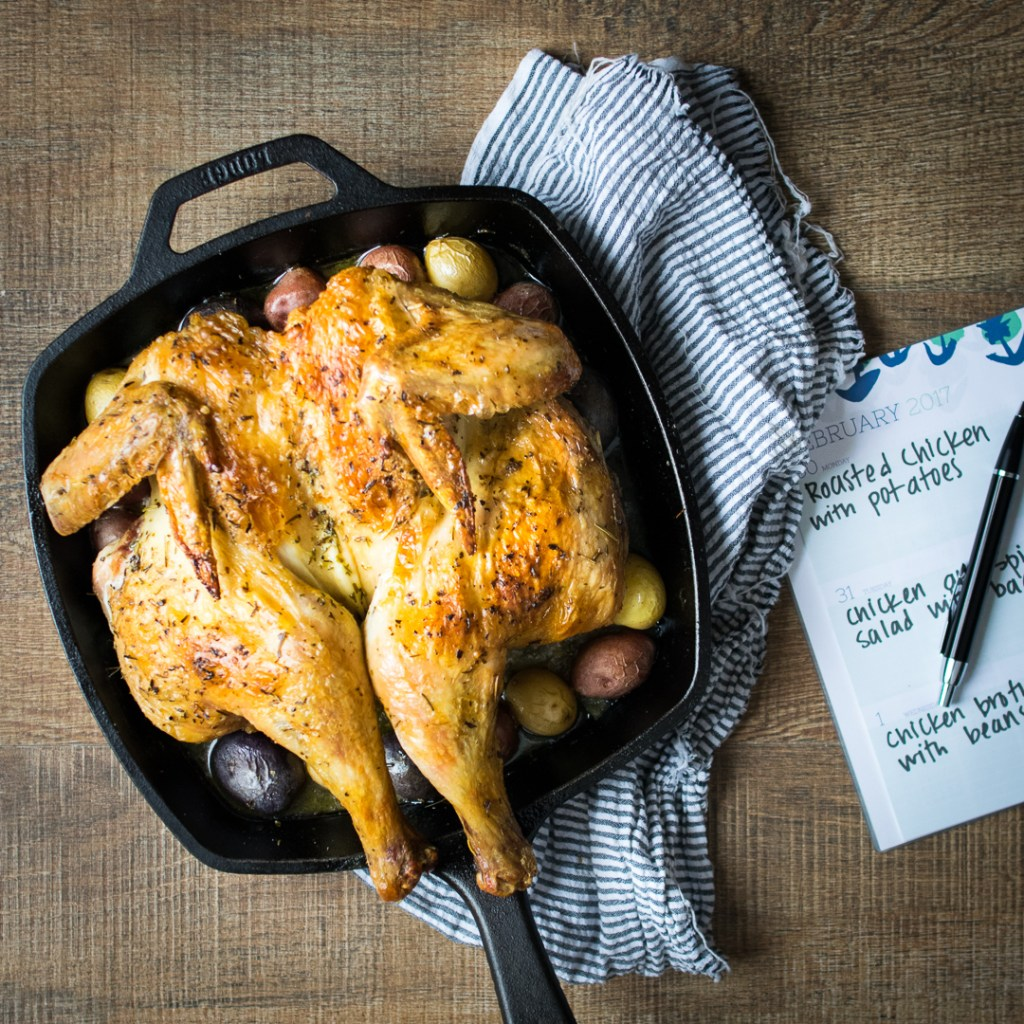 How to Turn One Organic Chicken Into 5 Meals | Reclaiming Yesterday