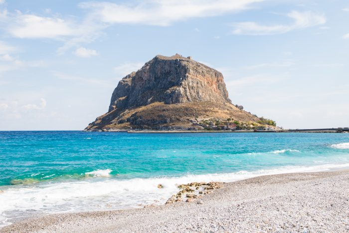 Visiting Monemvasia, Greece