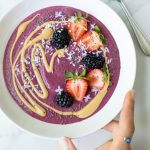 Berry Chickpea Smoothie Bowl | Reclaiming Yesterday