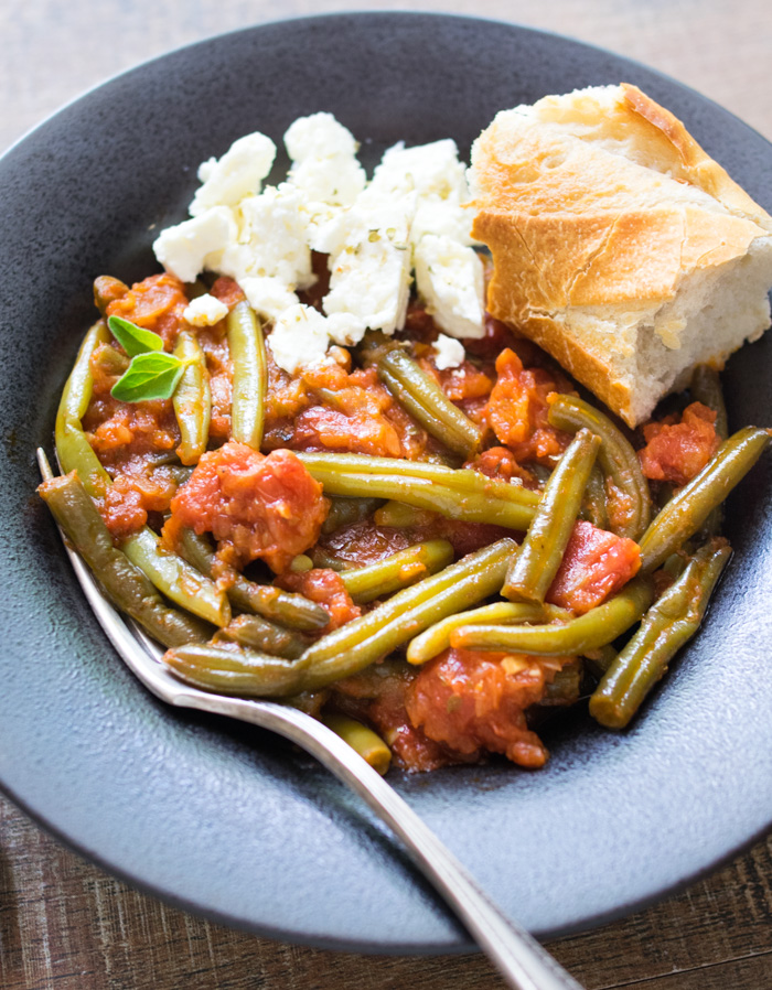 Greek Style Green Beans (Fasolakia) | Reclaiming Yesterday