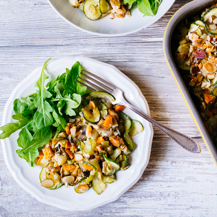 Paleo Tuna Casserole with Zoodles | Reclaiming Yesterday