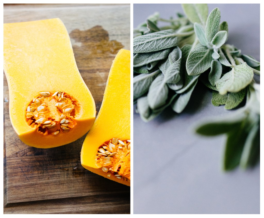 Butternut Squash and Sage for butternut squash fritters | Reclaiming Yesterday