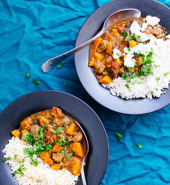 Instant Pot Moroccan Lamb Stew | Reclaiming Yesterday