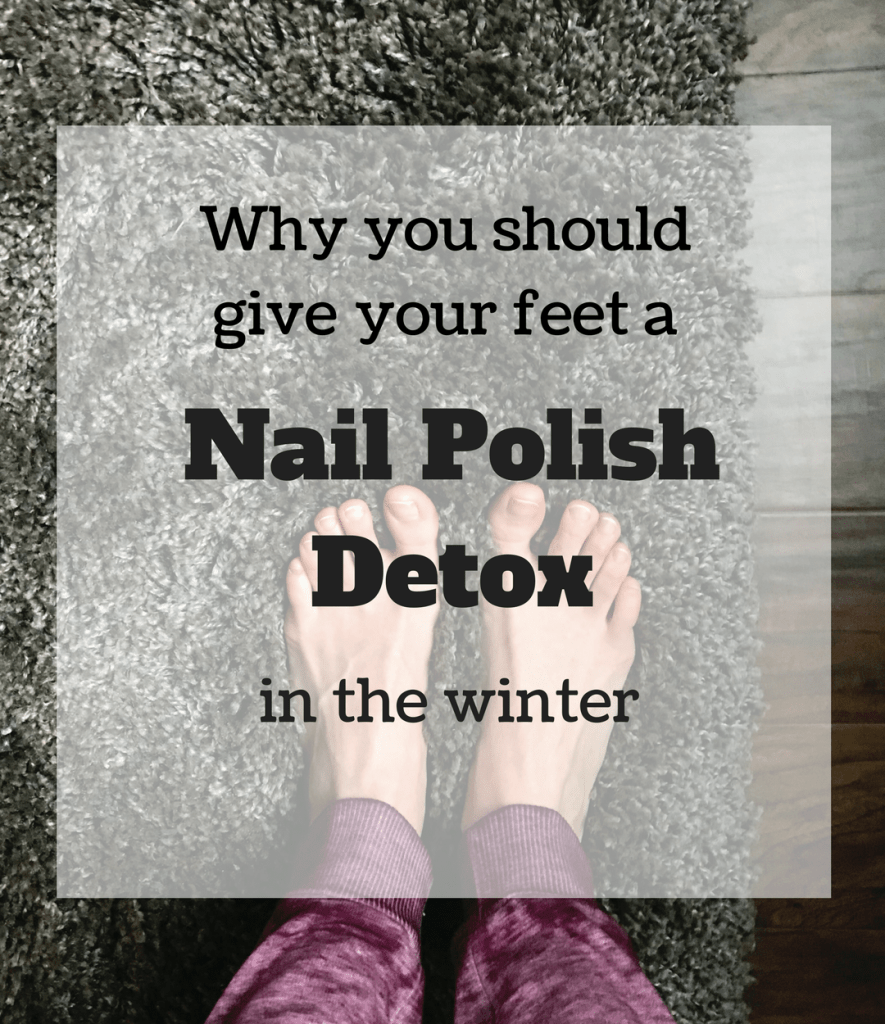 Why You Should Give Your Feet a Nail Polish Detox in the Winter
