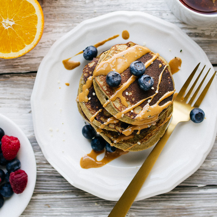 Paleo Hemp Protein Pancakes