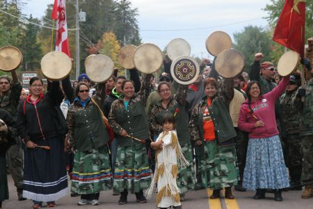 Women Drumming for the Water