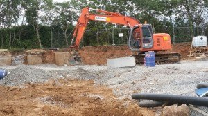excavation service from industrial to small residential properties uk ireland