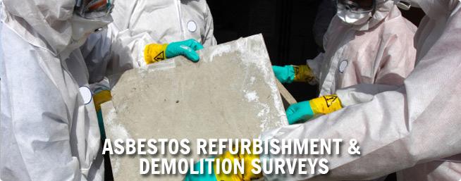 Asbestos + Removal Surveying + Surveys