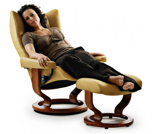 Stressless Wing Classic Recliner Amp Ottoman From 239500