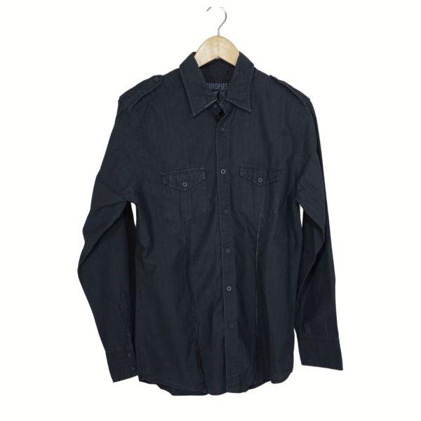 Camisa cinzento escuro - reCloset roupa em segunda mão