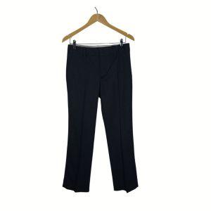 Calças azul escuro com vinco - reCloset roupa em segunda mão