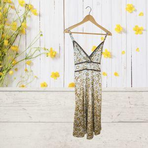 Vestido com padrão geométrico | reCloset roupa em segunda mão