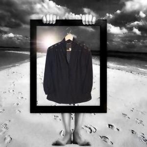 Blusa preta | reCloset roupa em segunda mão