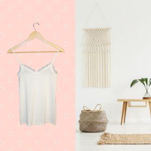 Top branco com renda - reCloset roupa em segunda mão