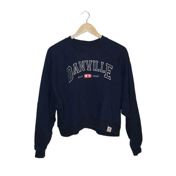 Sweatshirt azul escura - reCloset roupa em segunda mão