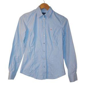 Camisa clássica azul - reCloset roupa em segunda mão