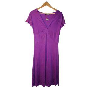 Vestido de seda roxo - reCloset roupa em segunda mão