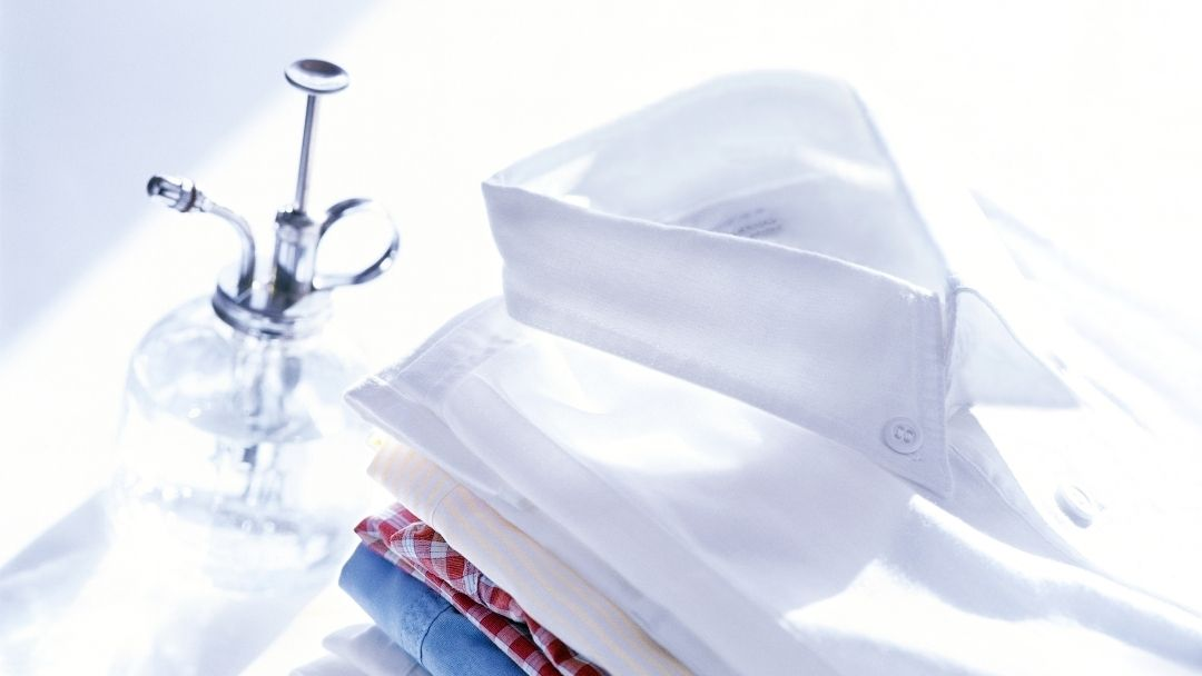 Alisar roupa com água - reCloset roupa em segunda mão