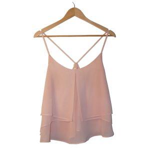 Top de alças rosa - reCloset roupa em segunda mão