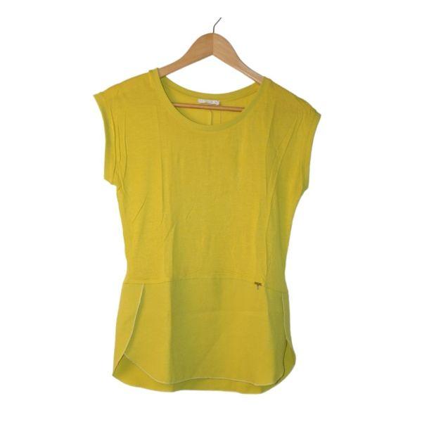 Blusa amarela sem mangas - reCloset roupa em segunda mão