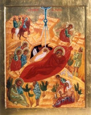 Nativité écrite par sr Jacqueline Poirier, r.m.