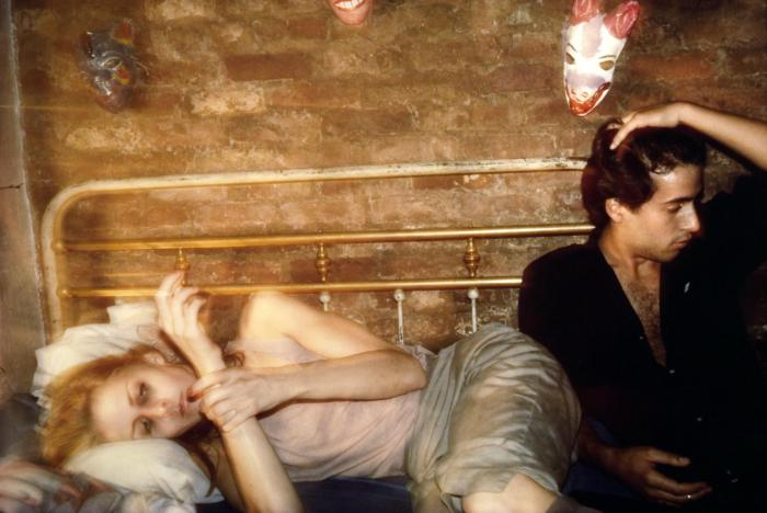 Greer and Robert on the bed, NYC 1982 Nan Goldin born 1953 Purchased 1997 http://www.tate.org.uk/