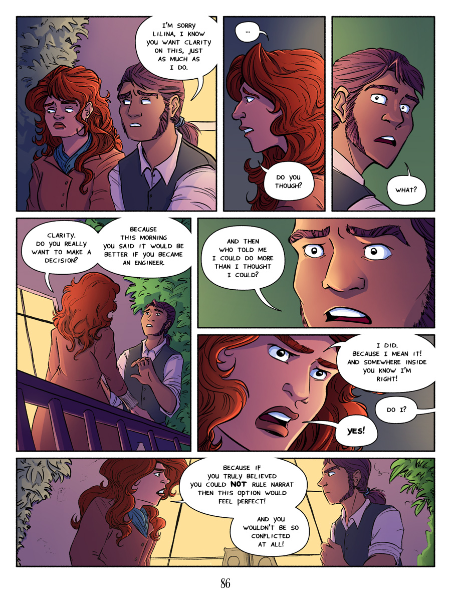 Recollection City - Page 86: Do you want to make a decision at all?