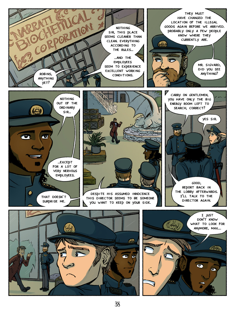 Receollection City page 38 - The Narrati Biochemical Corporation