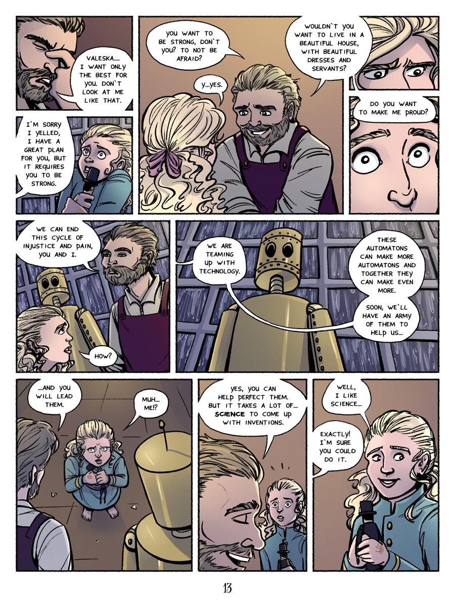 Page 13, Bad parental behaviour