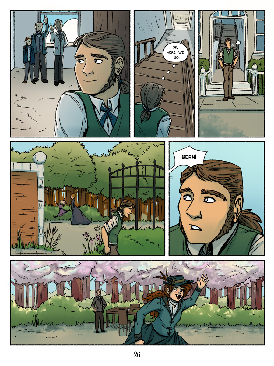 A wild new character appears! Recollection City page 26