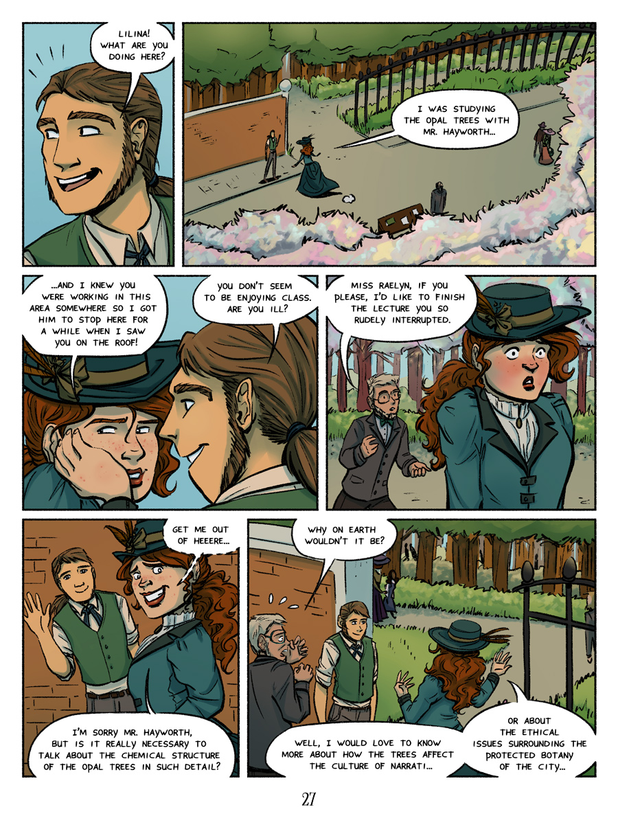 A welcome distraction for both sides - Recollection City page 27