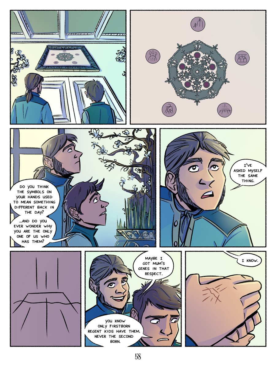 Recollection City page 58 - Only the eldest