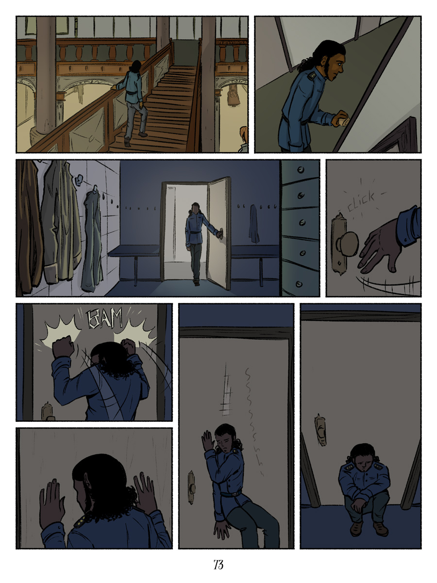 Recollection City page 73 - frustrated