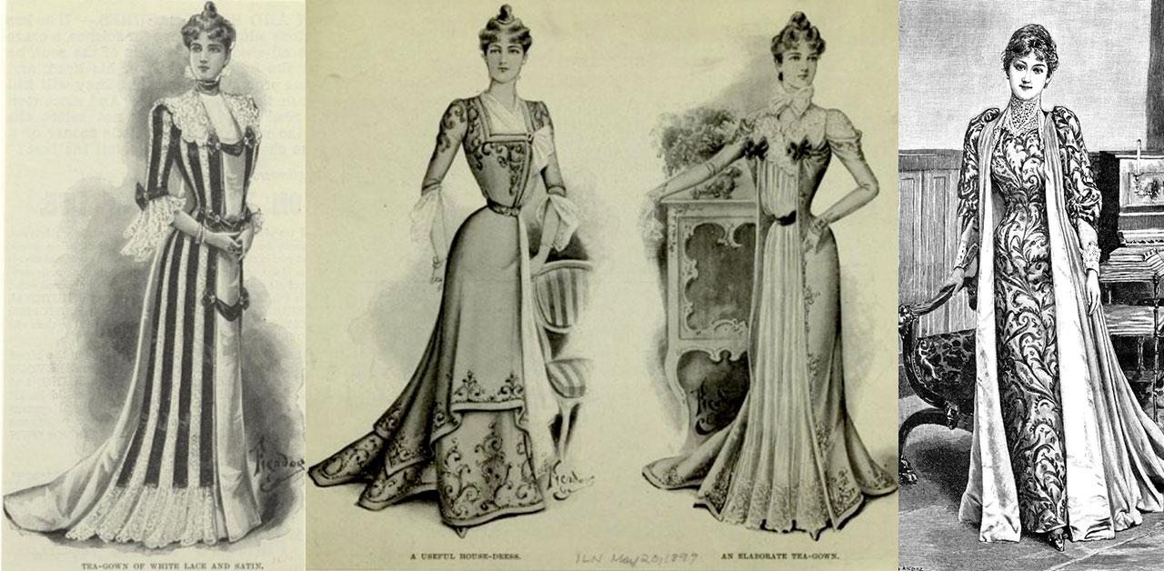 Bridging Victorian And Edwardian Fashion