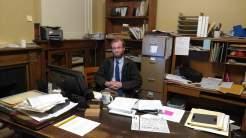 Ben Clark, archivist at the Marathon County Historical Society