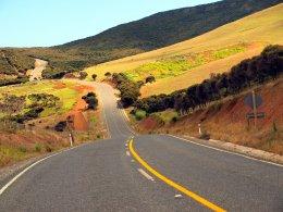 Straße zum Cape Reinga - Nordinsel