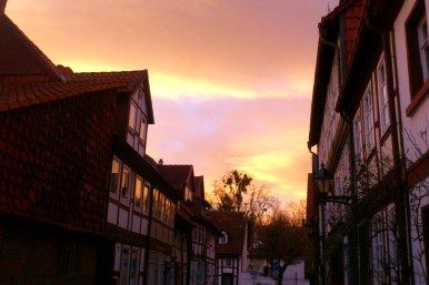Die Altstadt Hildesheims.