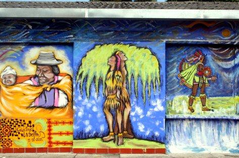 """Ein ganz """"natürliches"""" Bild des """"Colectivo La Septa""""."""