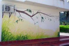 """Schlicht und schön ziert diese """"Natur"""" eine Wand."""