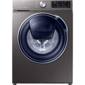 Masina de spalat rufe Samsung WW90M644OPX/LE, Tehnologie Quick Drive, AddWash, Eco Bubble, Motor Digital Inverter, Smart Control, 9 kg, 1400 RPM, Clasa A+++, Inox reducere Emag