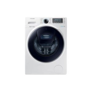 Masina de spalat rufe Samsung Eco Bubble AddWash WW80K7415OW/LE, 8 kg, 1400 RPM, Clasa A+++, Alb reducere Emag