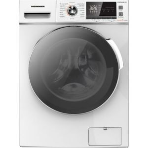Masina de spalat rufe cu uscator Heinner HWDM-8614B, Spalare 8 kg, Uscare 6 kg 1400 RPM, Clasa B, Display LCD, 60 cm, Alb reducere Emag